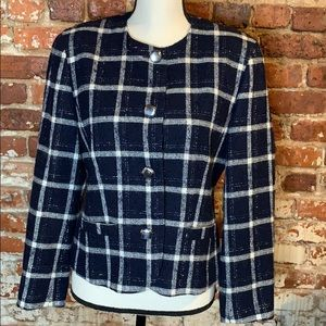 Pendleton 100% Virgin Wool Blazer US8 VTG